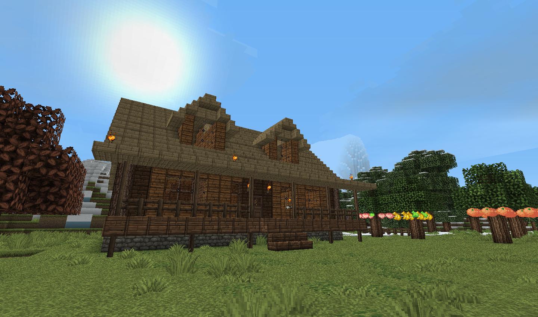 Farmhouse Minecraft House Ideas