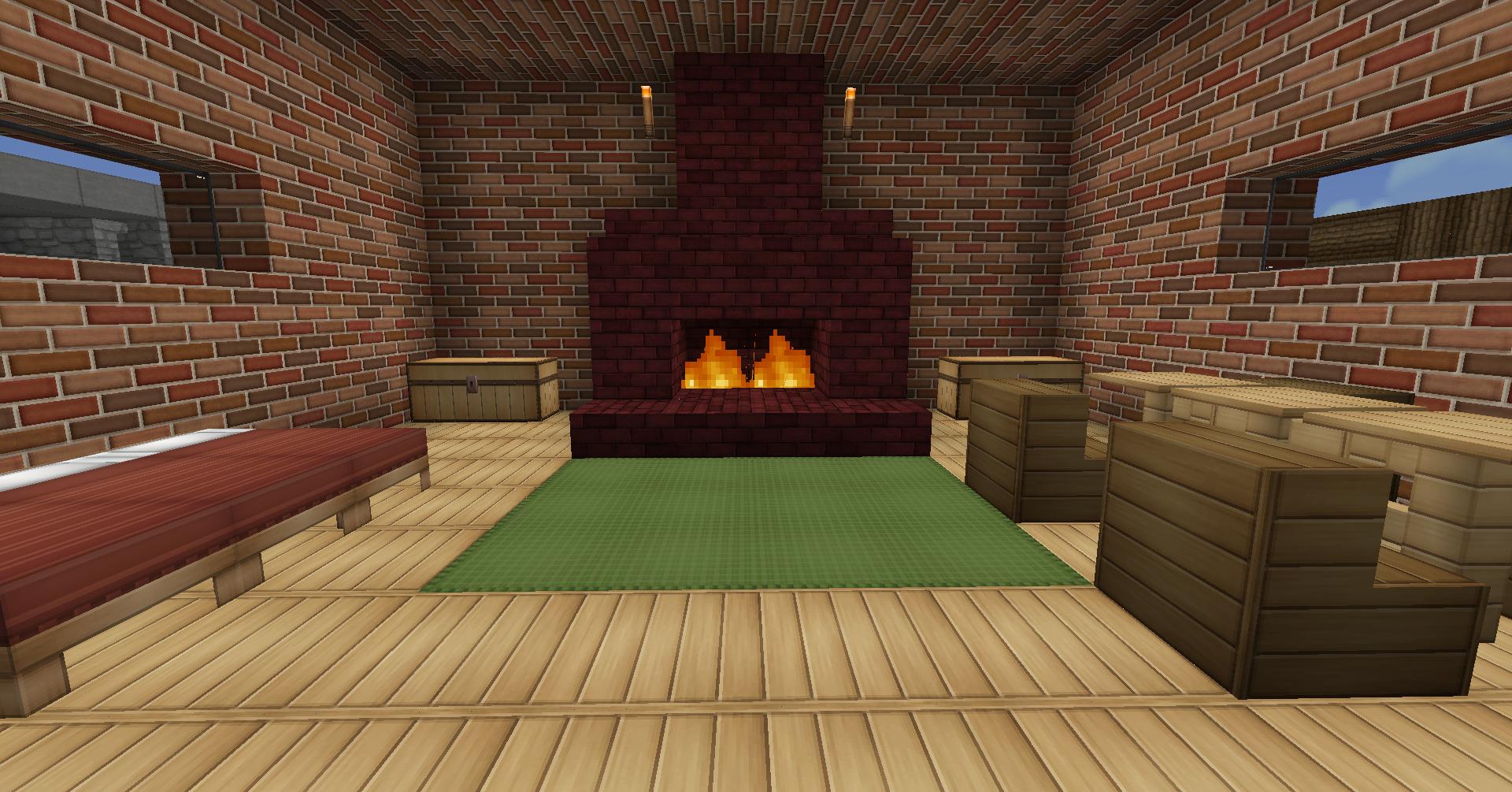 Interior Minecraft House Idea