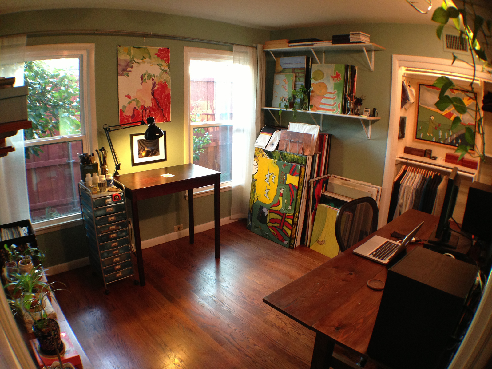 Art Studio Bonus Room Ideas