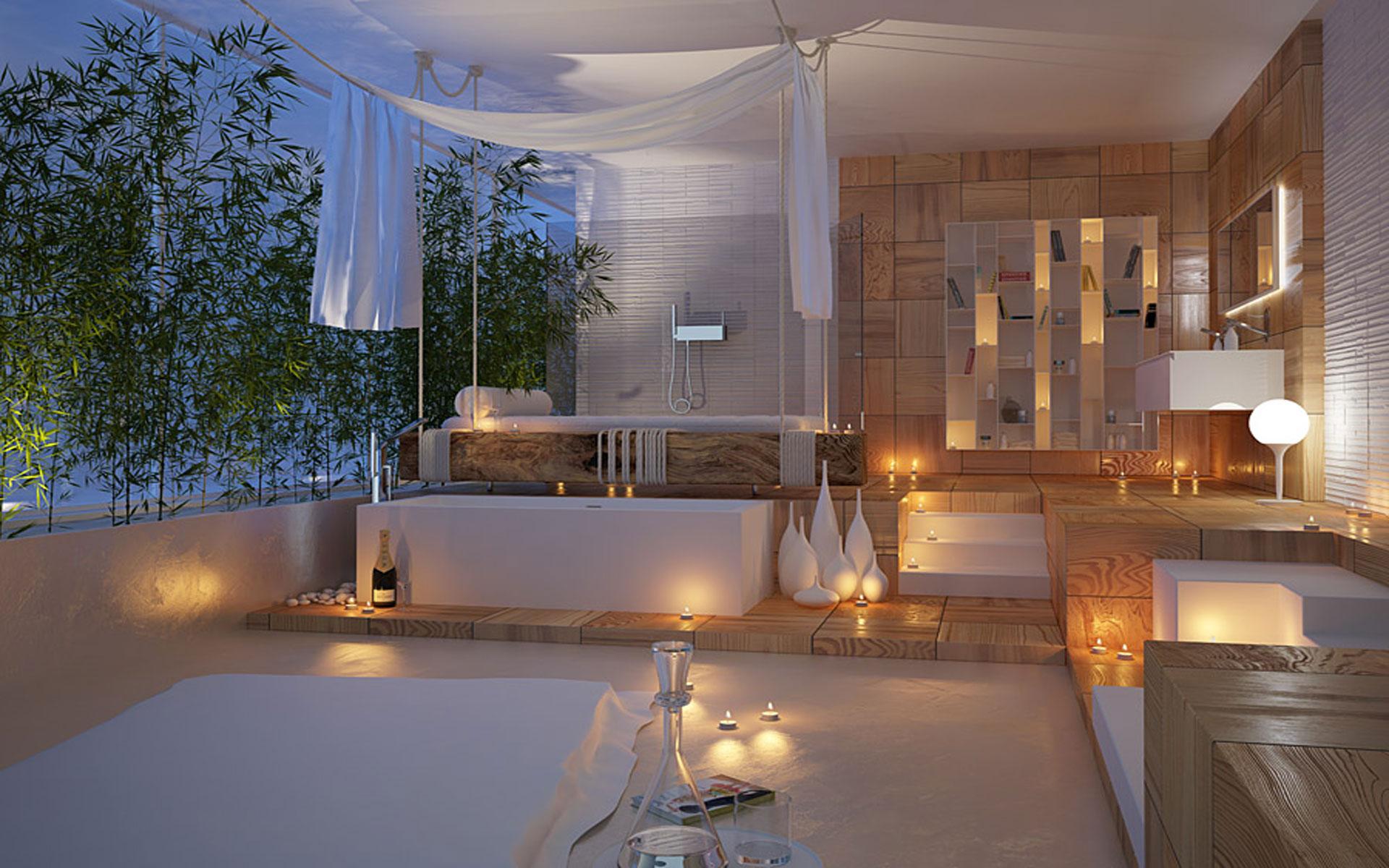 Spa-like Master Bathroom Ideas