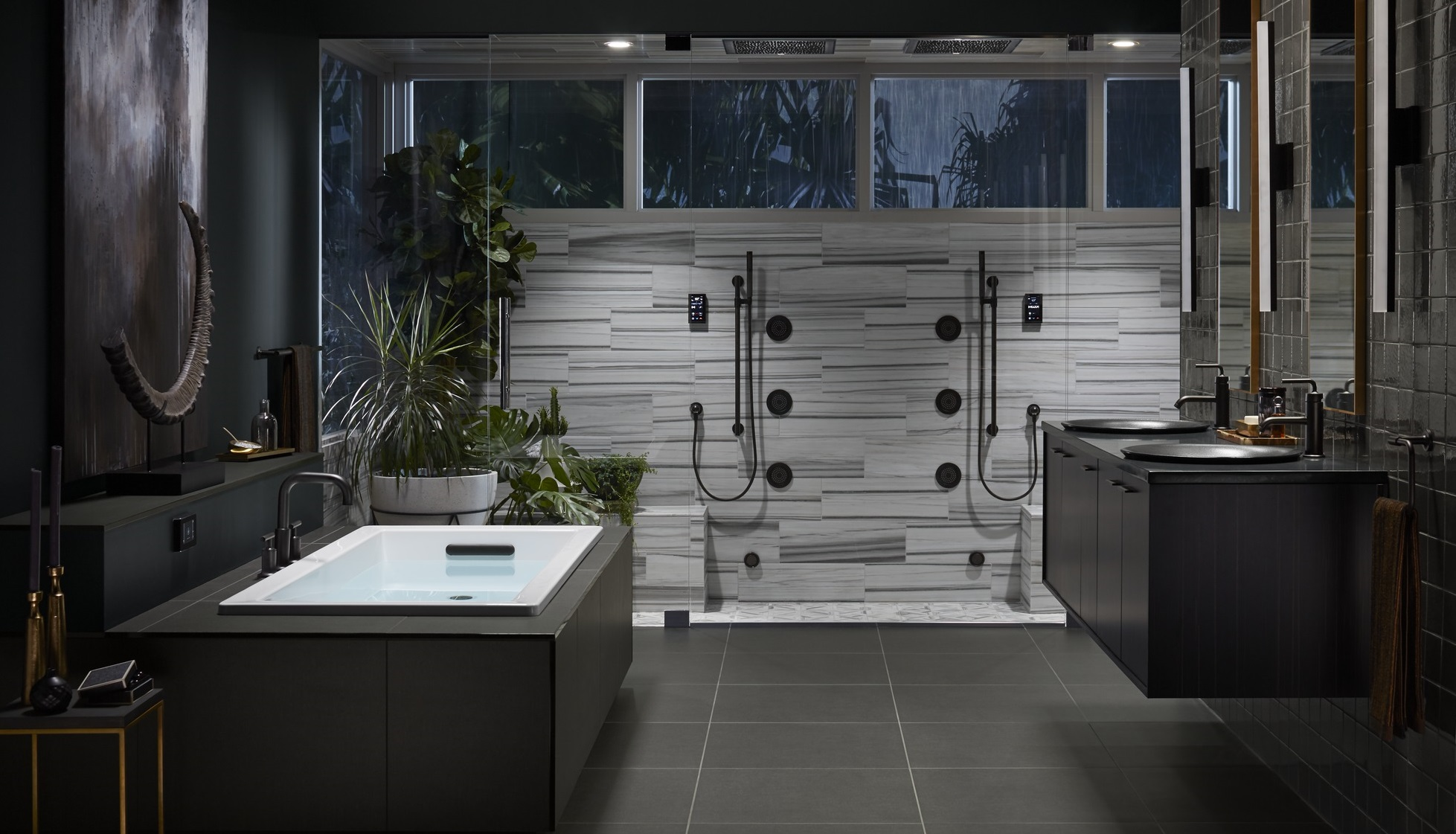 Masculine Master Bathroom Ideas