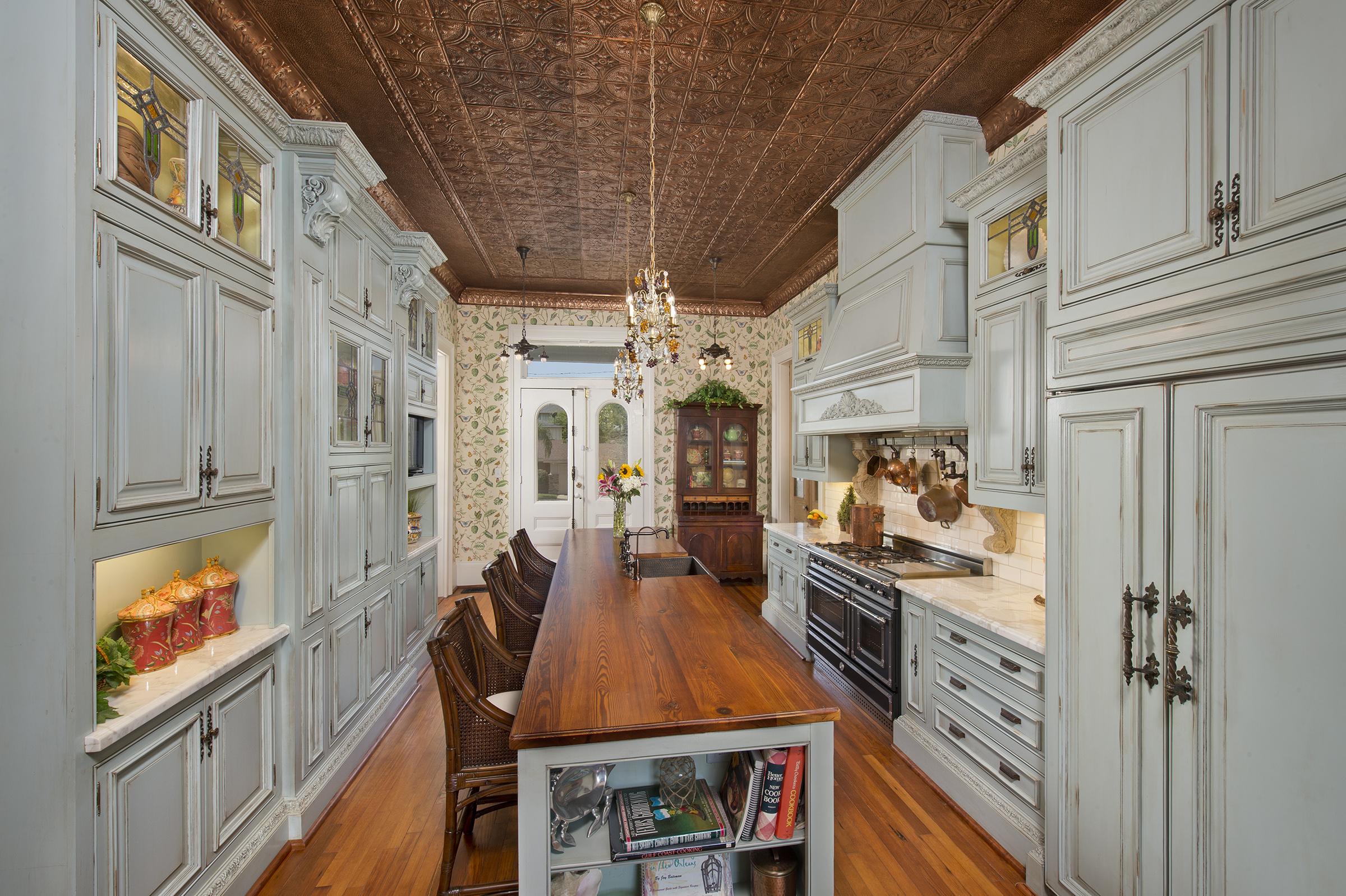 Victorian gray cabinet