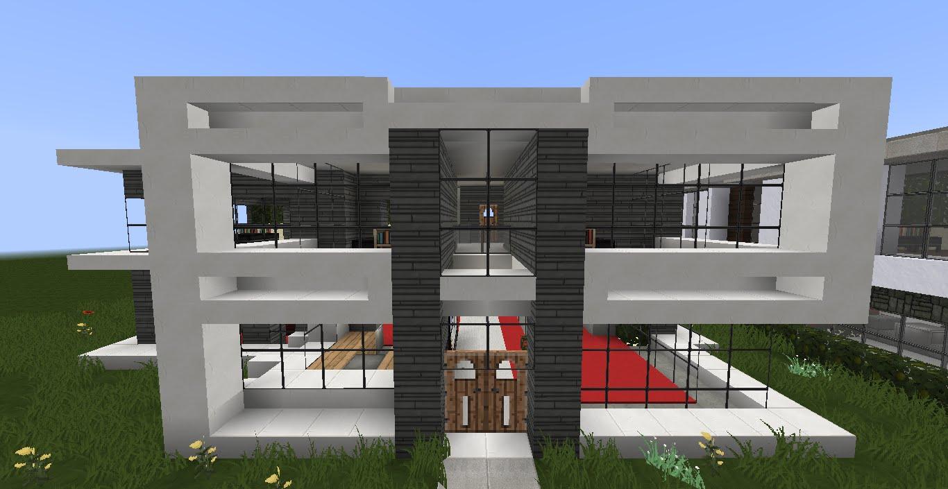 22 cool minecraft house ideas easy for modern and survival style rh simplyfutbol com  minecraft modern house ideas