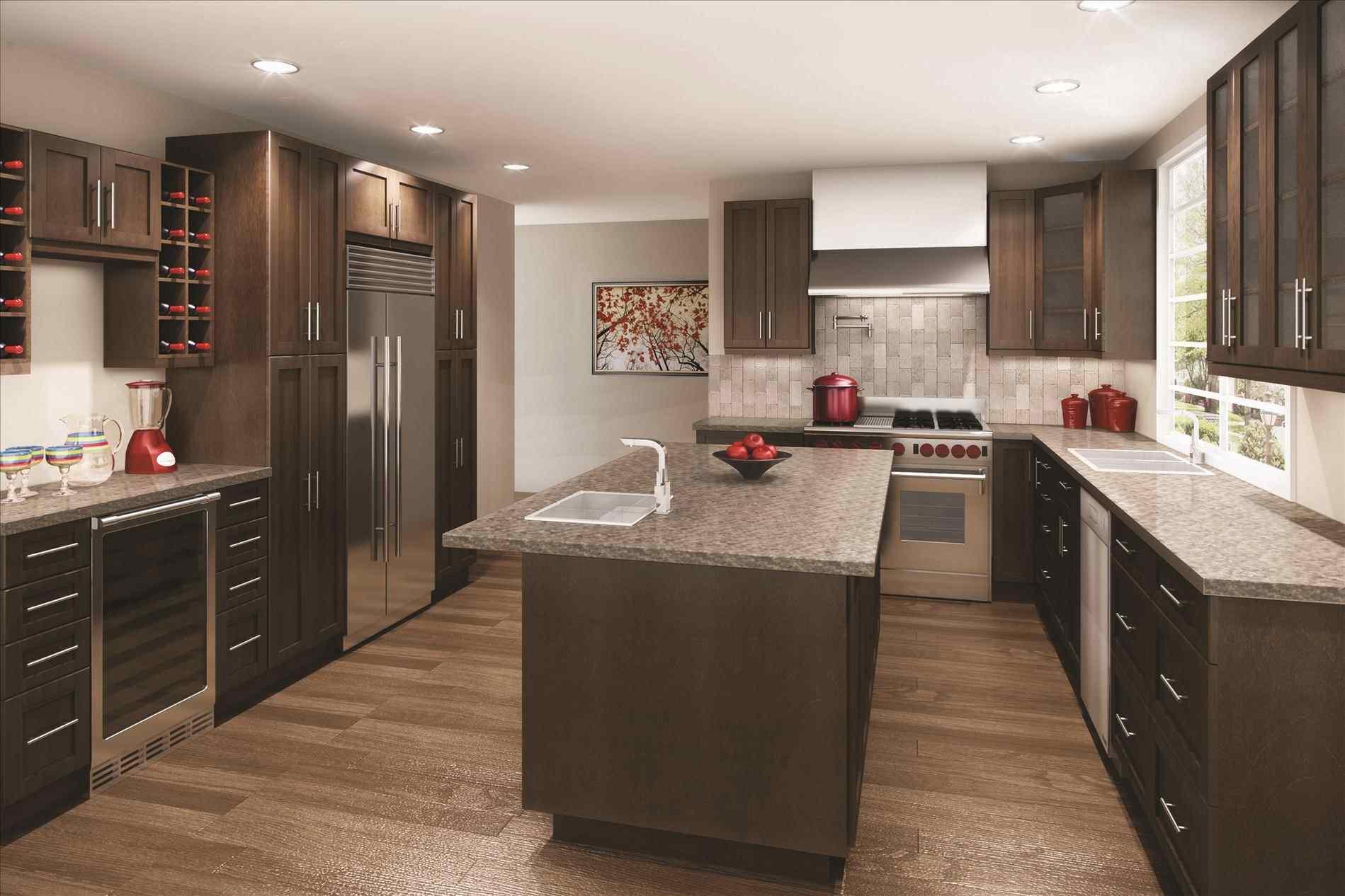 Dark Shades Kitchen Cabinets