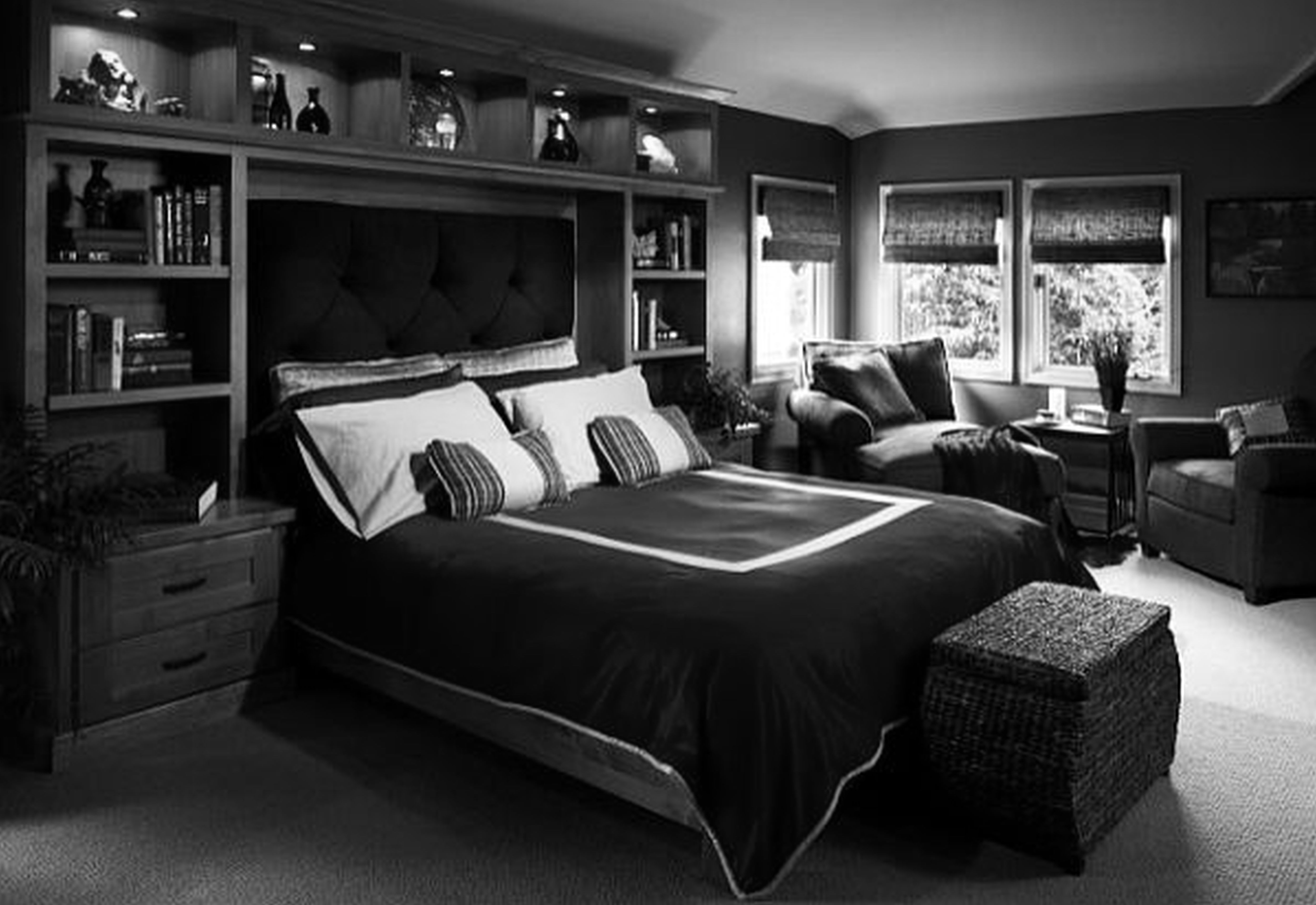 Dark Bedroom Ideas For Mens