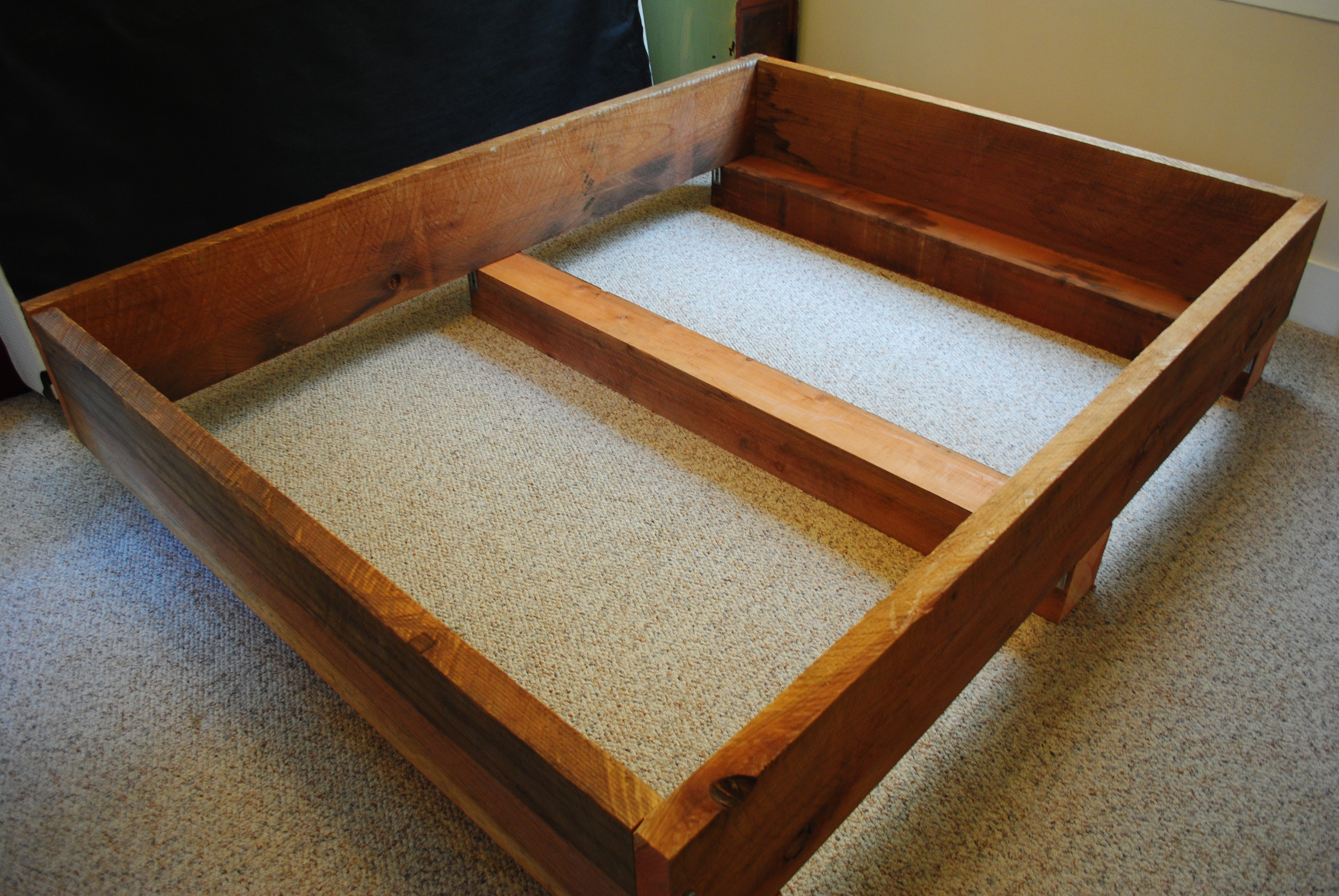 Simple DIY Bed Frame