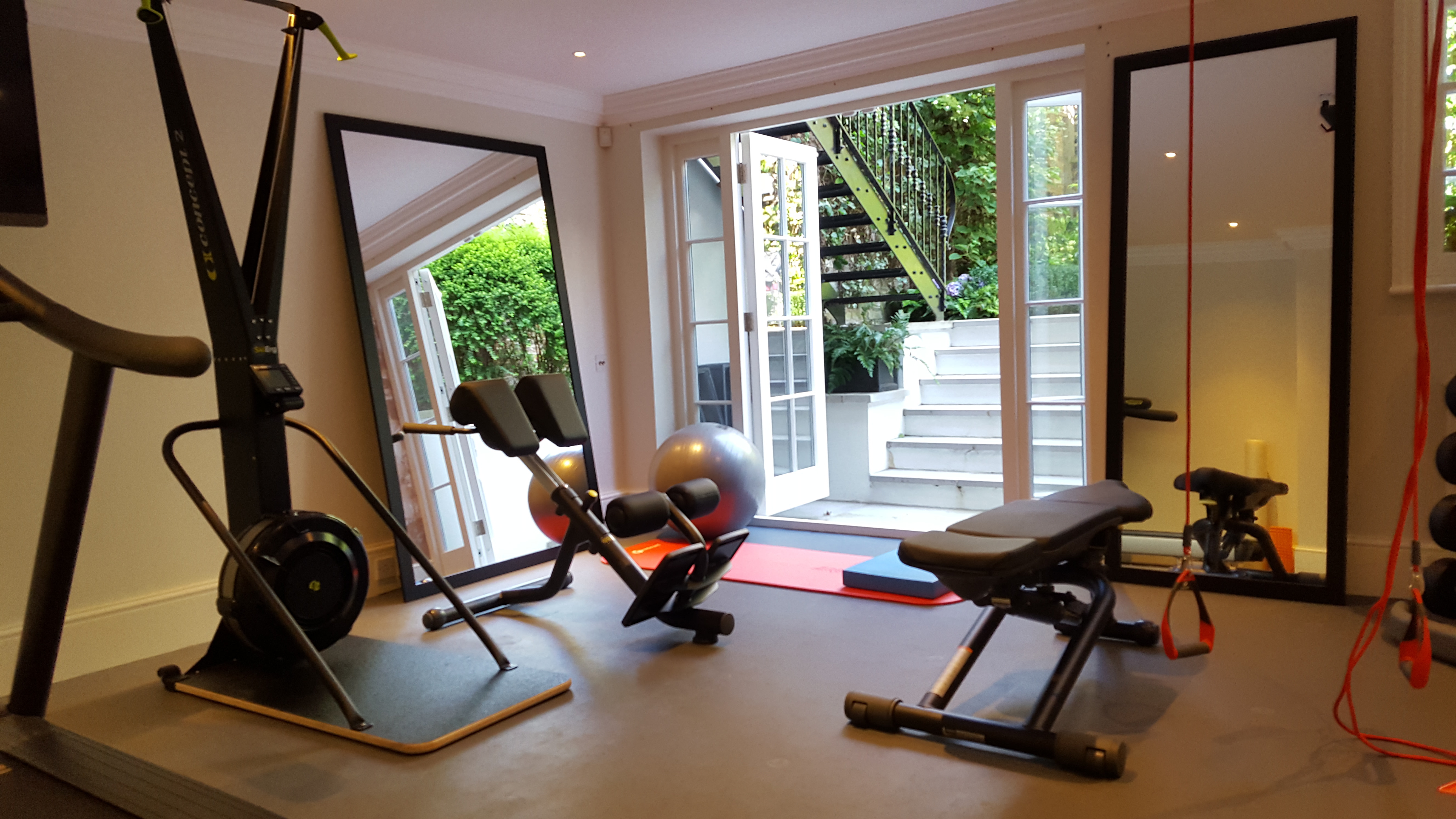The Home Gym Room