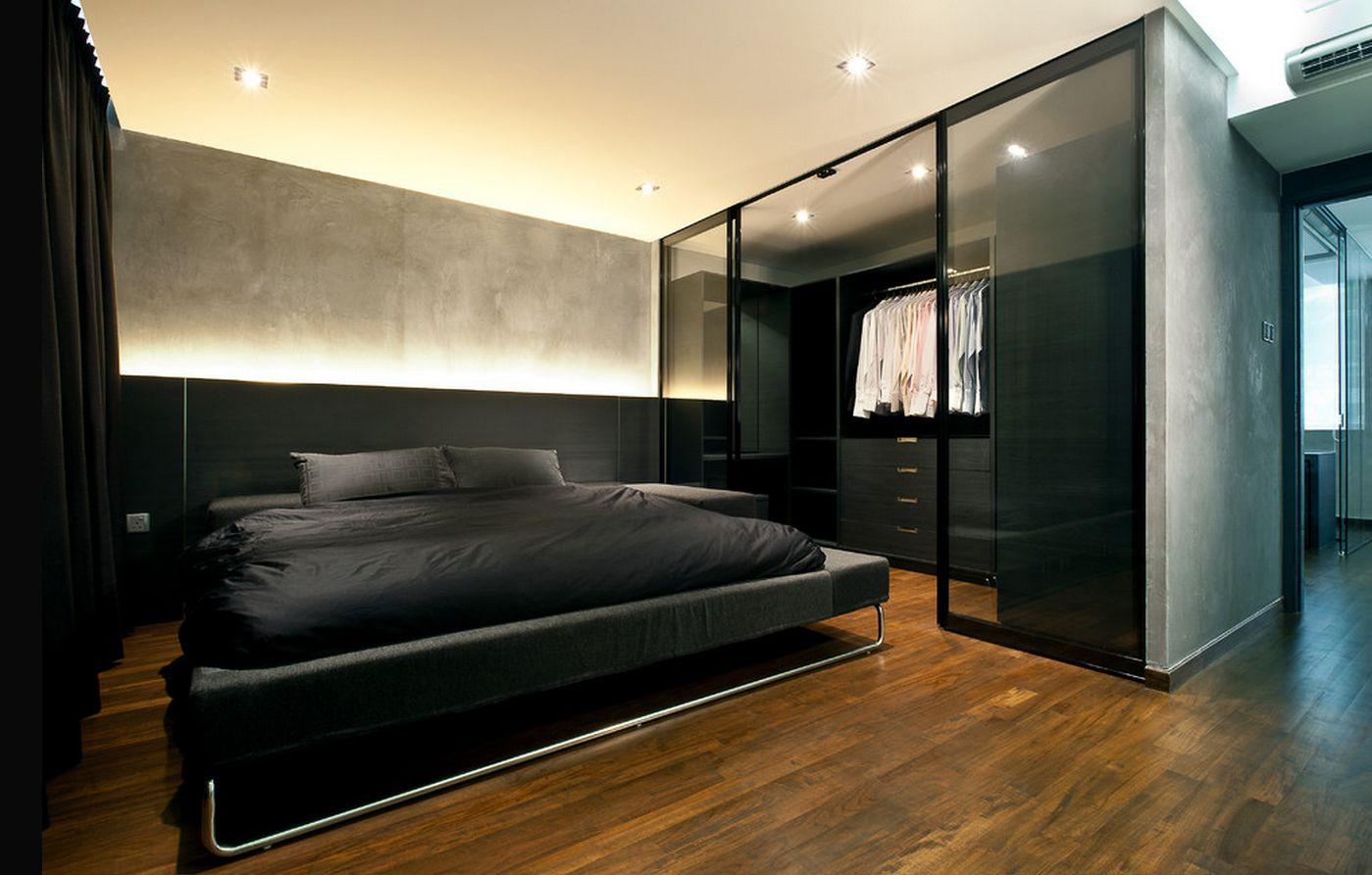 Minimalis Mens Bedroom Ideas