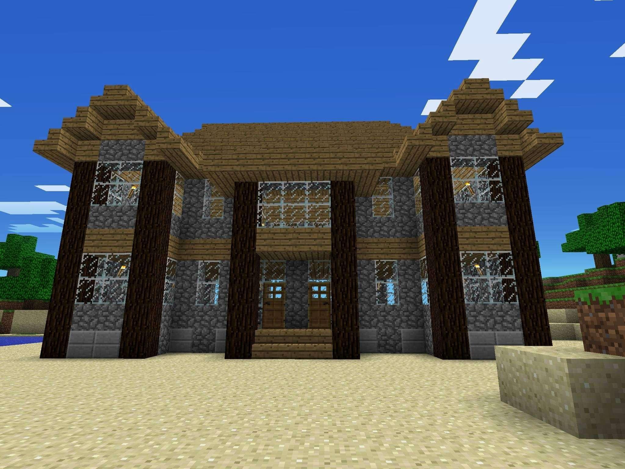 Design Plan Minecraft House ideas
