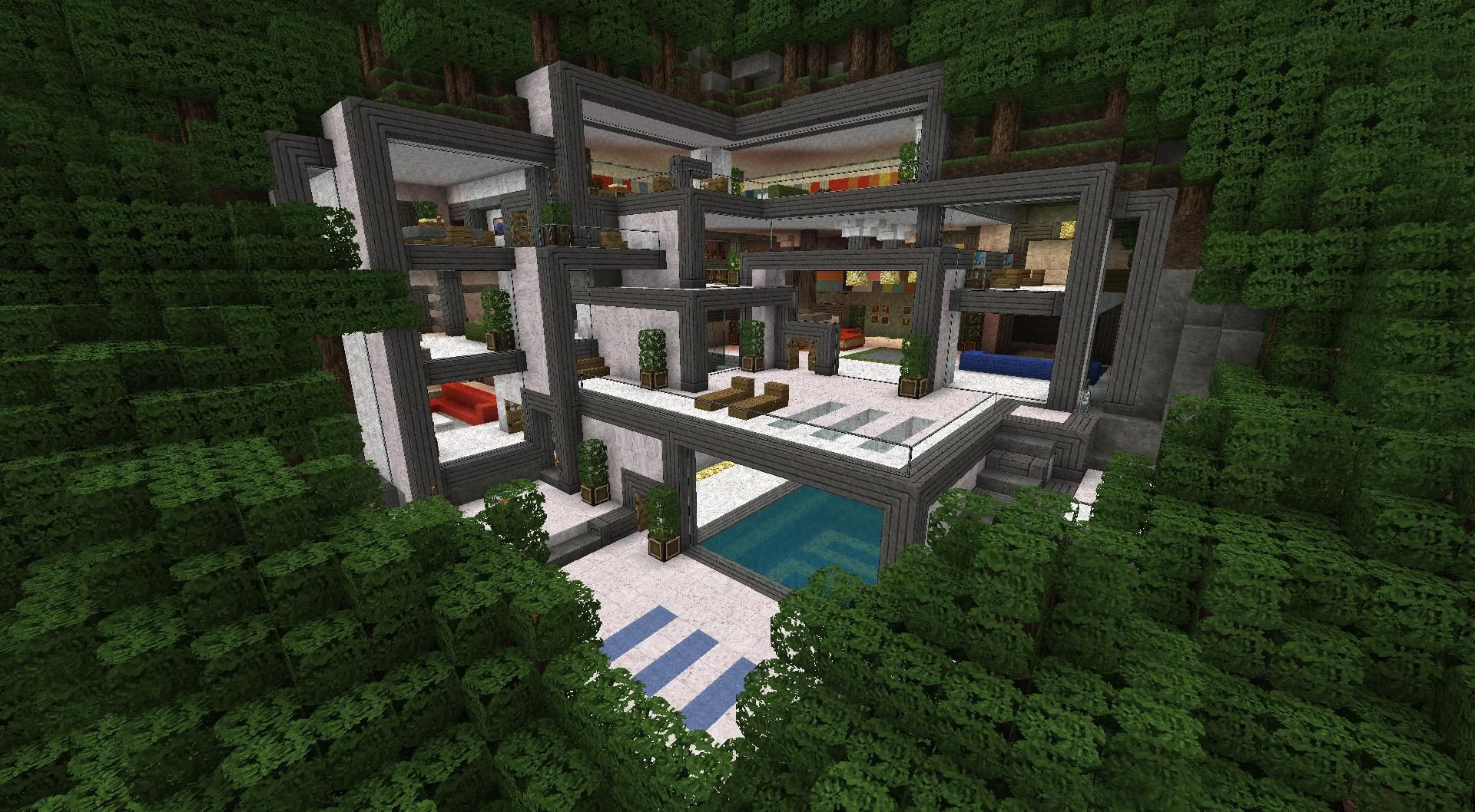 Open Area Minecraft Home Ideas