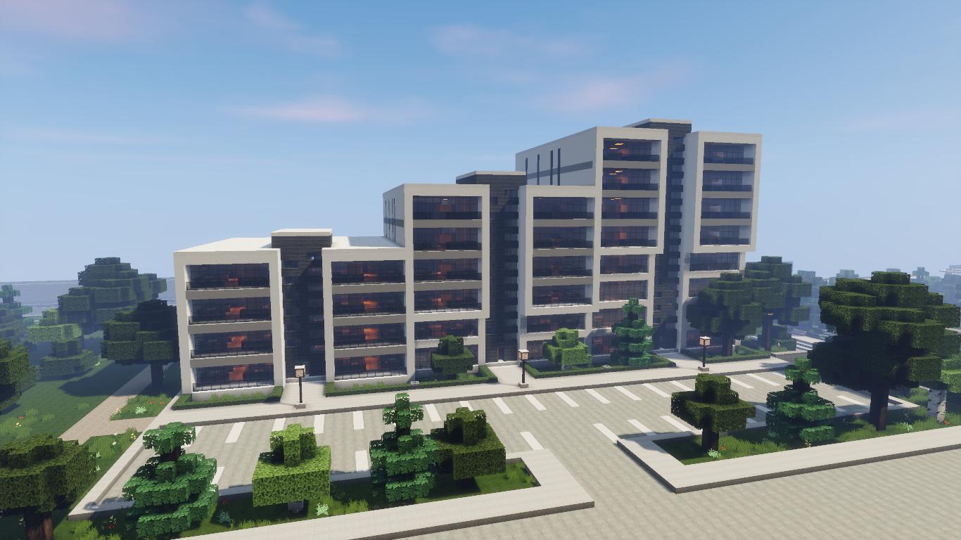 Minecraft apartment Home idea