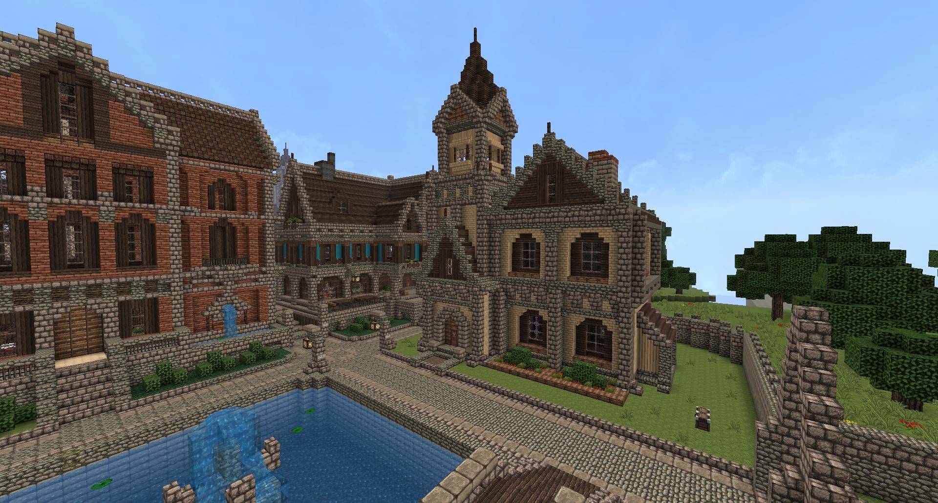 Large Minecraft House ideas