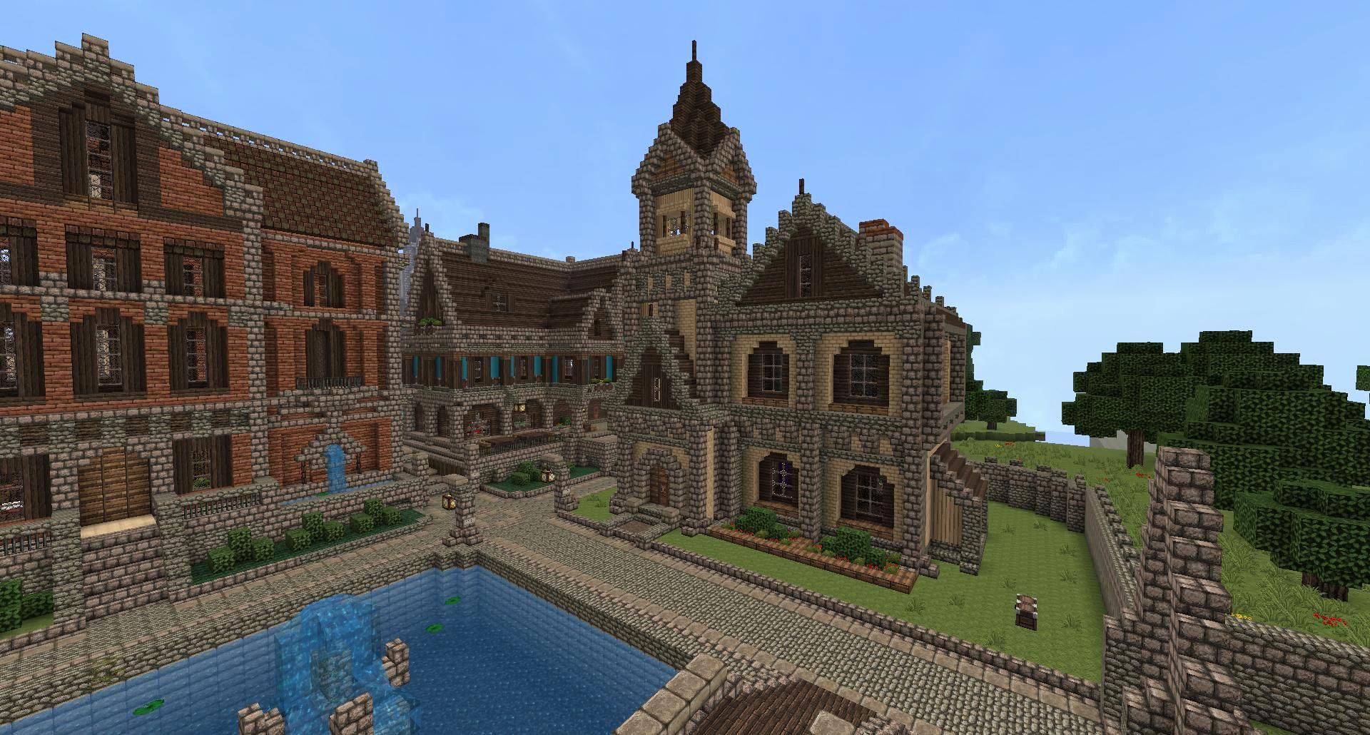 Minecraft House Design Layout Rumah Joglo Limasan Work