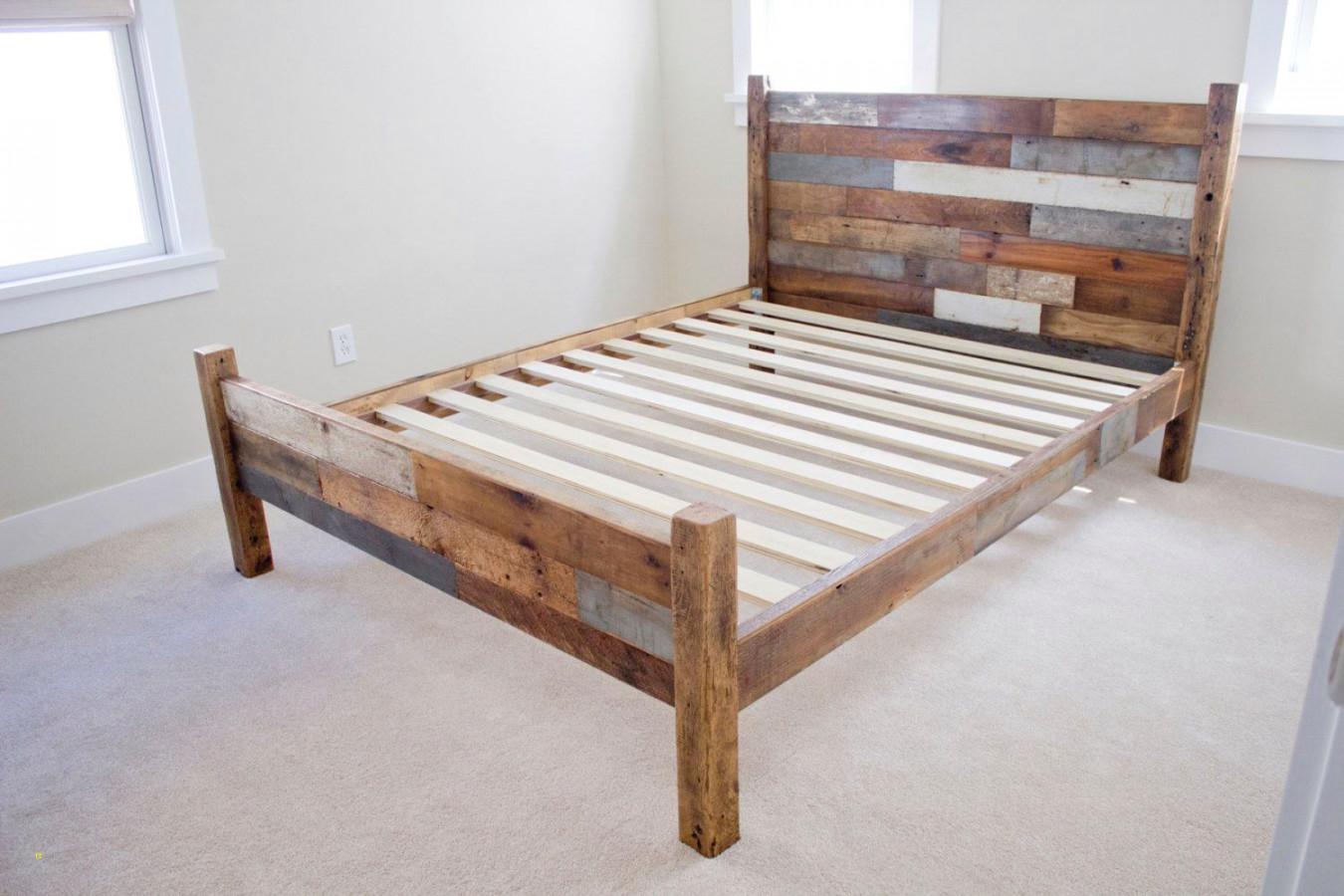 DIY Wood Bed Frame
