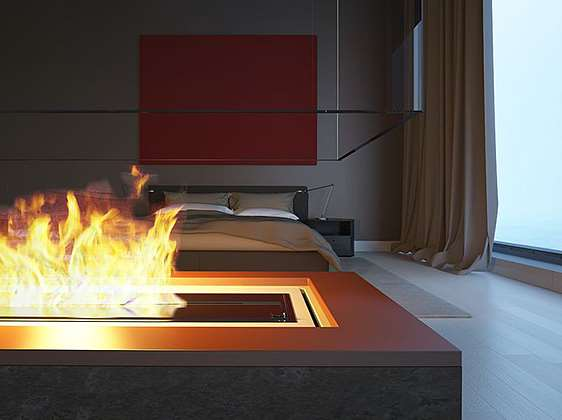 Fire place from the Flooring