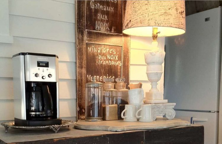 diy coffee bar in your home