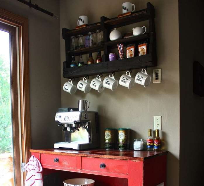Holiday Coffee Bar Idea