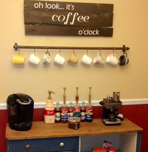 More smart coffee bar ideas