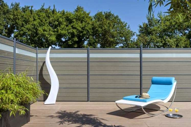 A highly protective garden fence panels