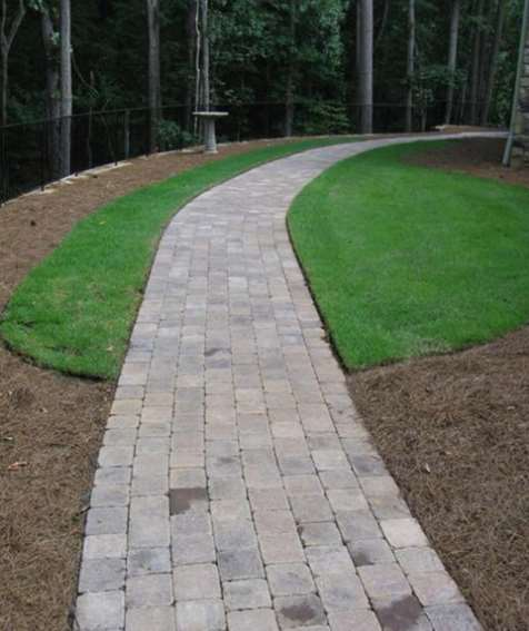 Minimalist Walkway paving ideas