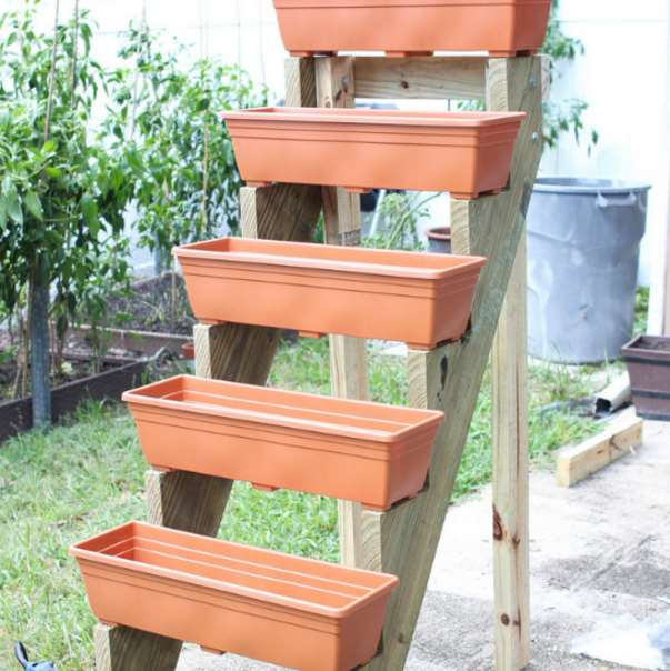 Best Standing Planter stair