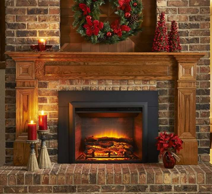 Brick Fireplace Ideas