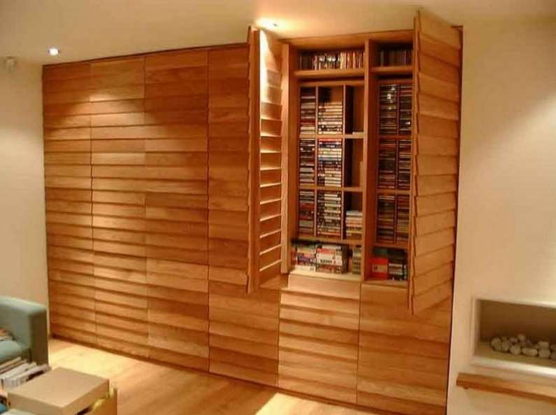 Build a shelf case that's designed to fit your DVDs
