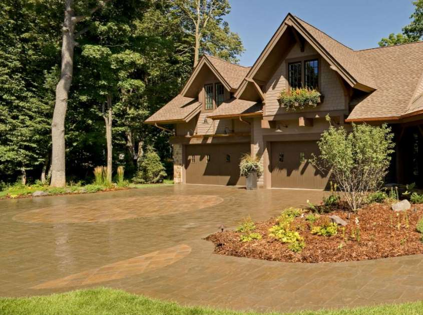 Circular Curb Appeal paving ideas