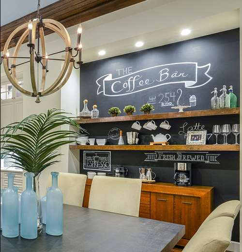 Home Coffee Bar Design Ideas: 25+ DIY Coffee Bar Ideas For Your Home (Stunning Pictures