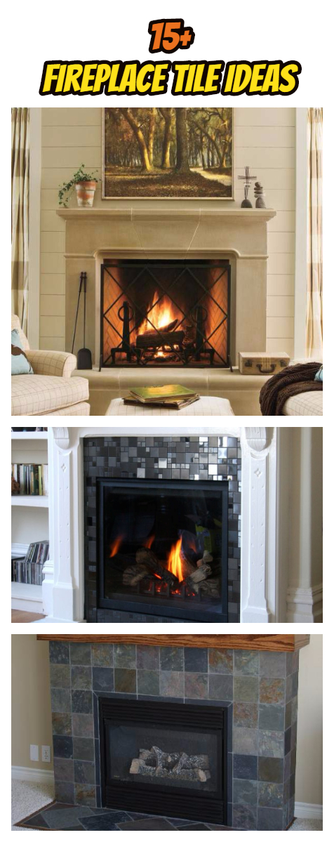 Fireplace Tile Ideas Pinterest