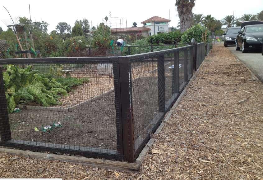Galvanized Perimeter Fence