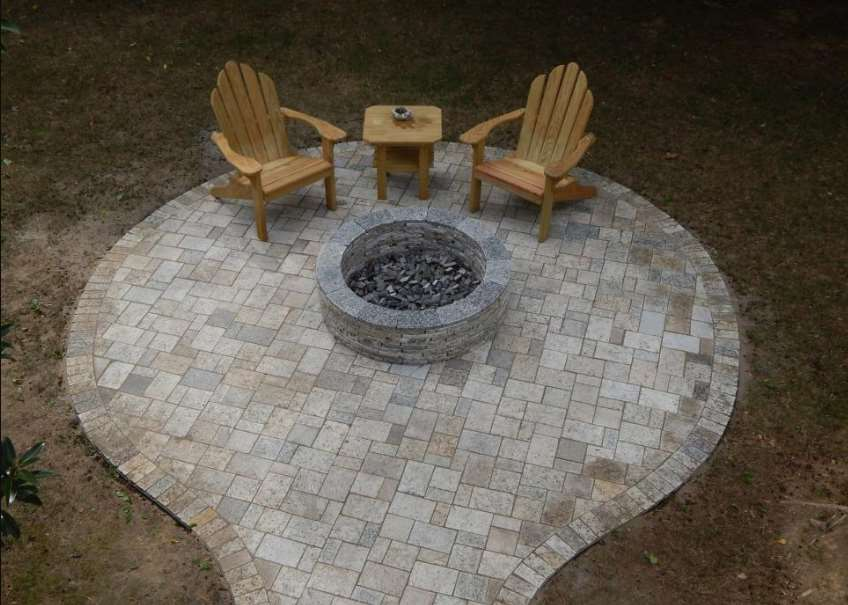 In the Round paving ideas