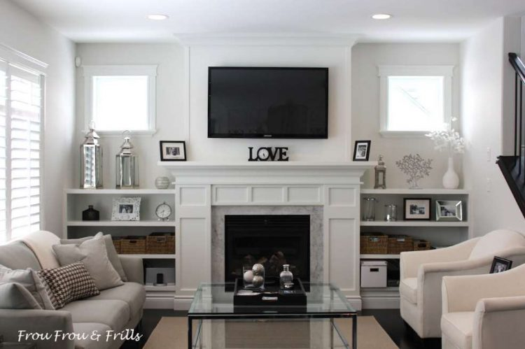 Living Room Ideas With Fireplace and TV