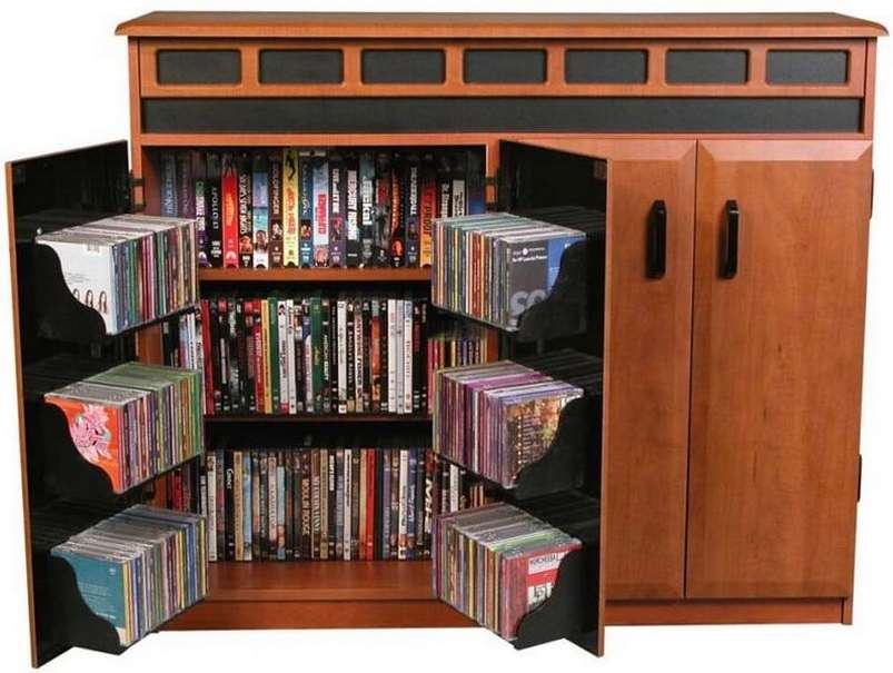 Dvd Storage Ideas 15+ unique stylish cd and dvd storage ideas - simply home