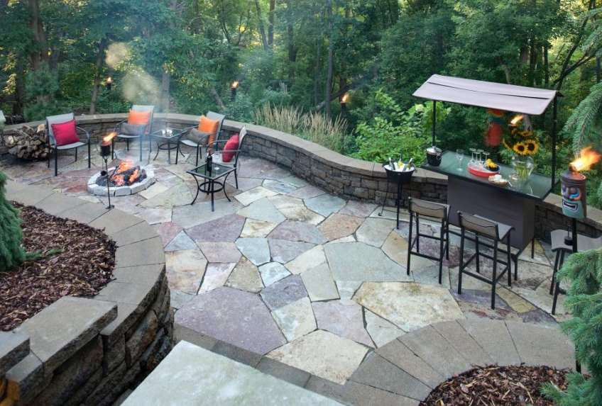 Party Patio paving ideas