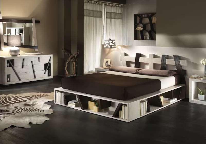 Platform Bed With Storage under
