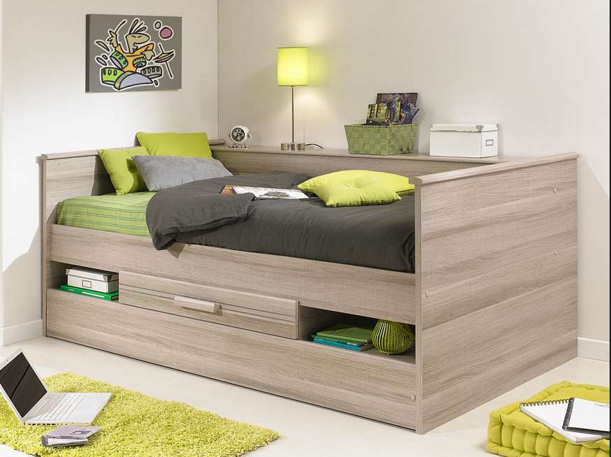 Platform Bed With Storage design