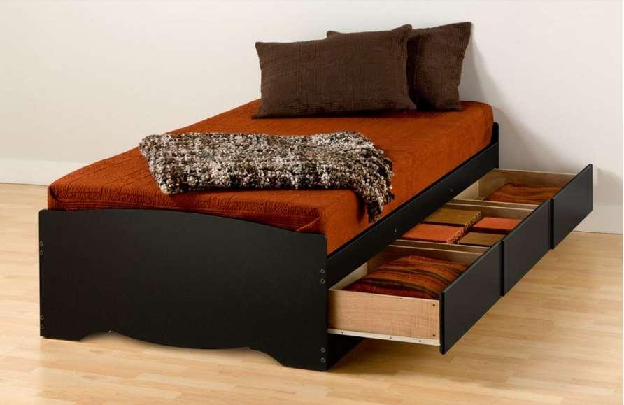 storage bed design ideas