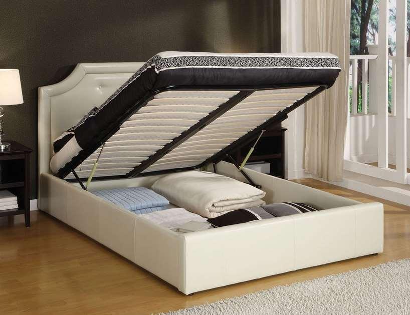 Platform Bed With Storage (3)