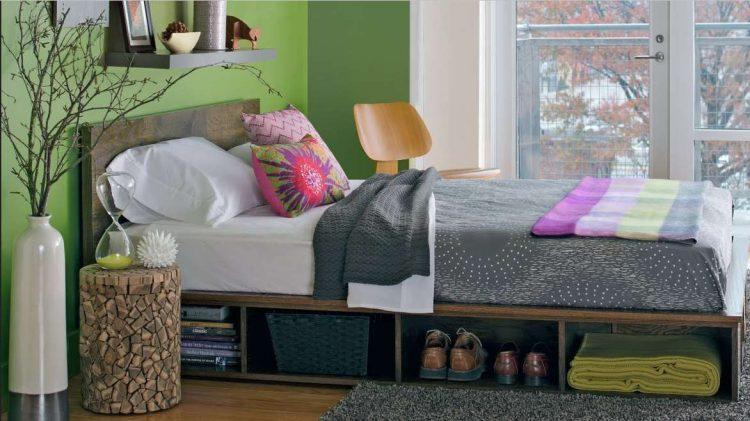Platform Bed With Storage (4)