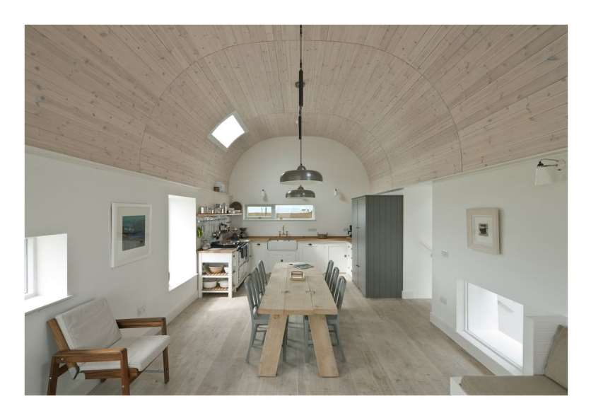 Quonset Hut Homes Room