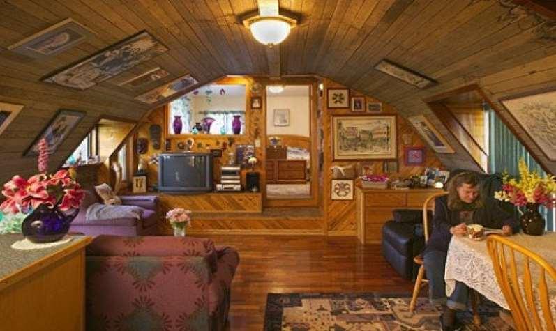 Quonset Hut Homes Underground