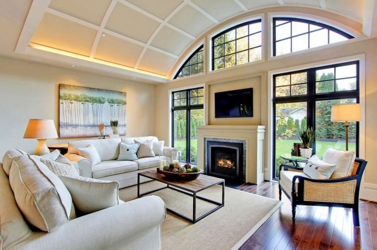 Quonset Hut Homes Family Room