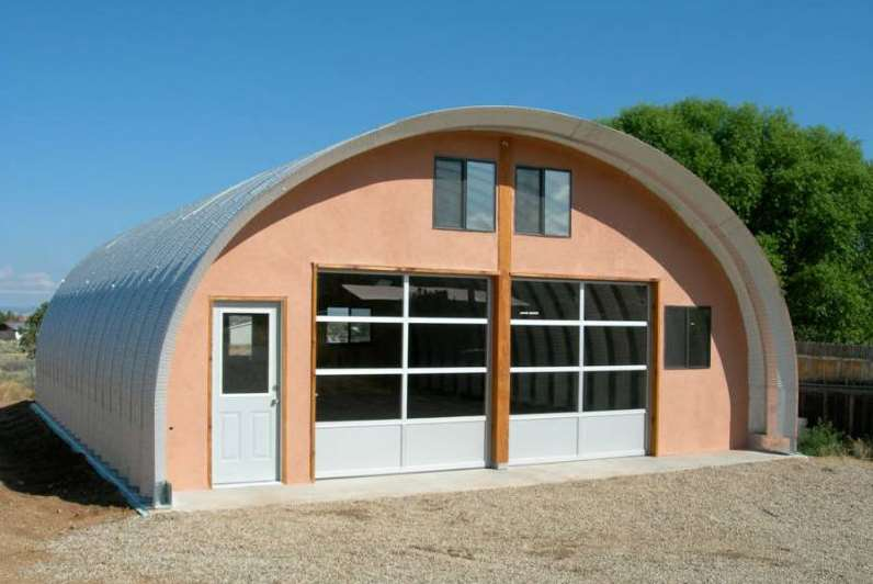Quonset Hut Homes s model