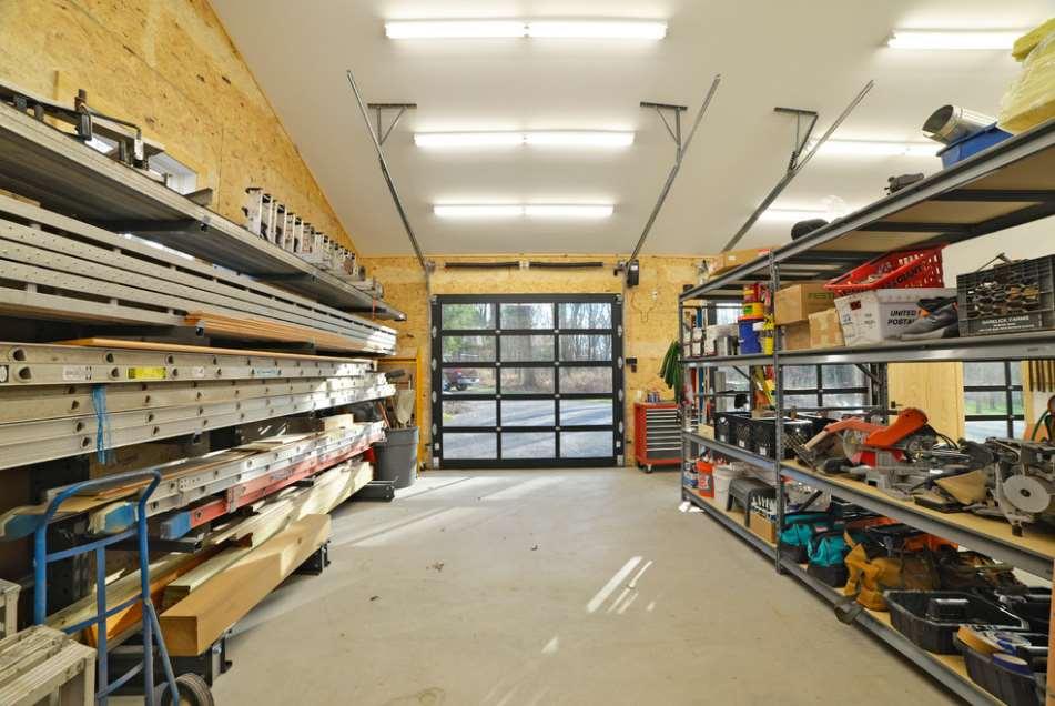 Quonset Hut Workshop Storage