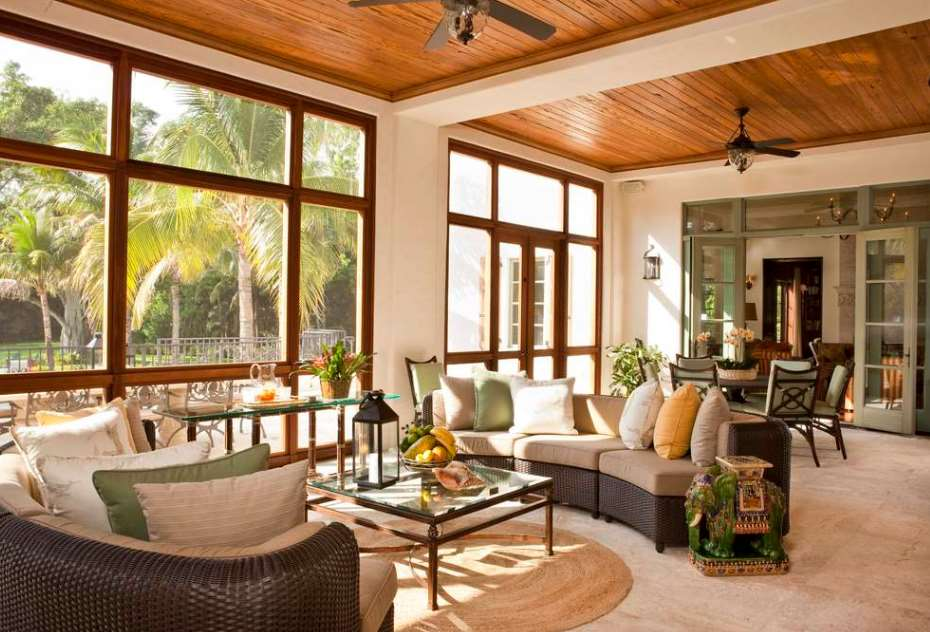 REFINED FLORIDA SPANISH STYLE HOME