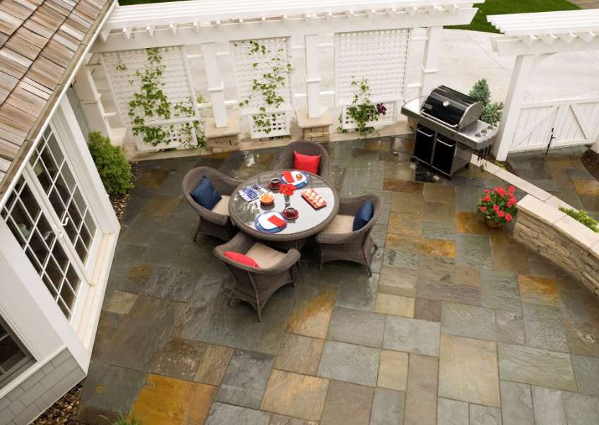 Rustic Look paving ideas