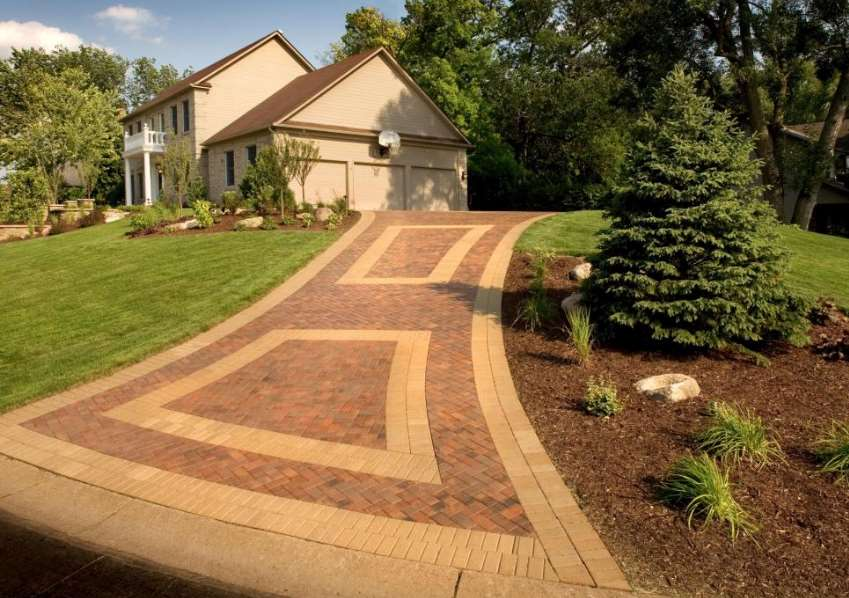 Shapely Status paving ideas