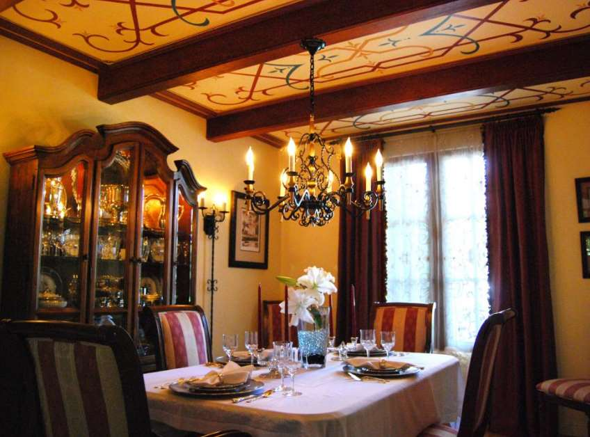 Spanish-Style Colonial Dining Room