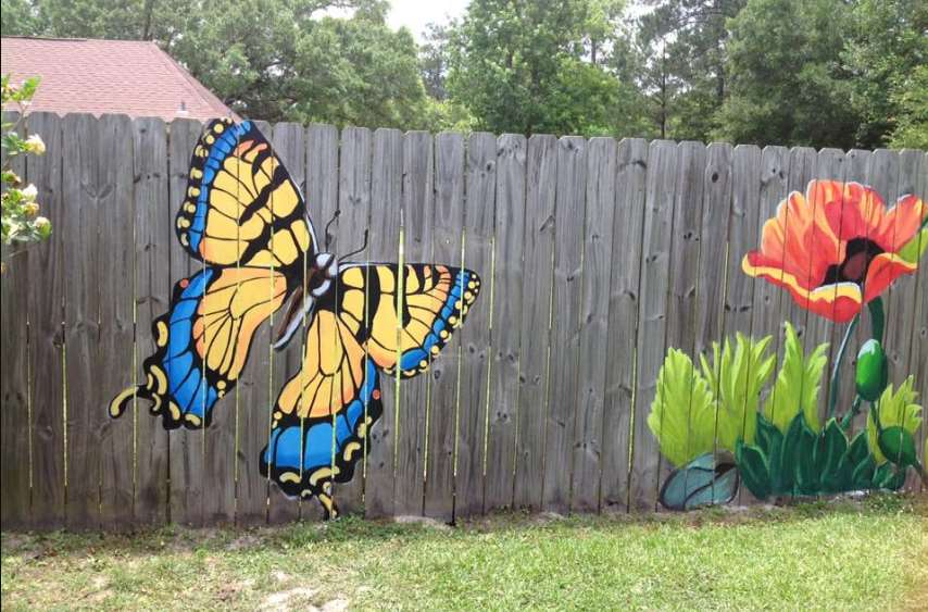 Mural Fence